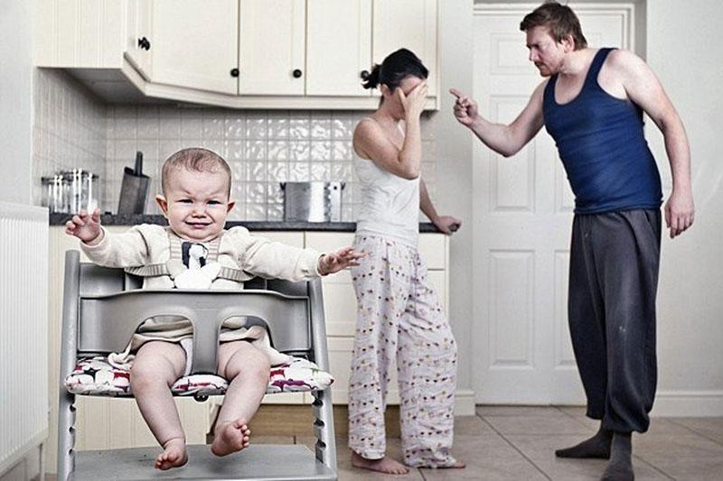 Как бытовуха разрушает семейные отношения