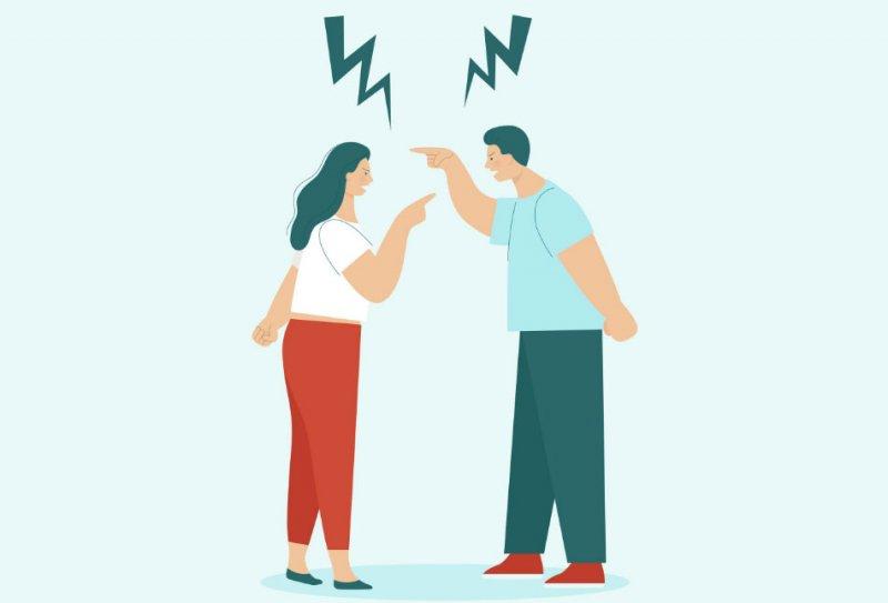 Почему муж и жена ссорятся