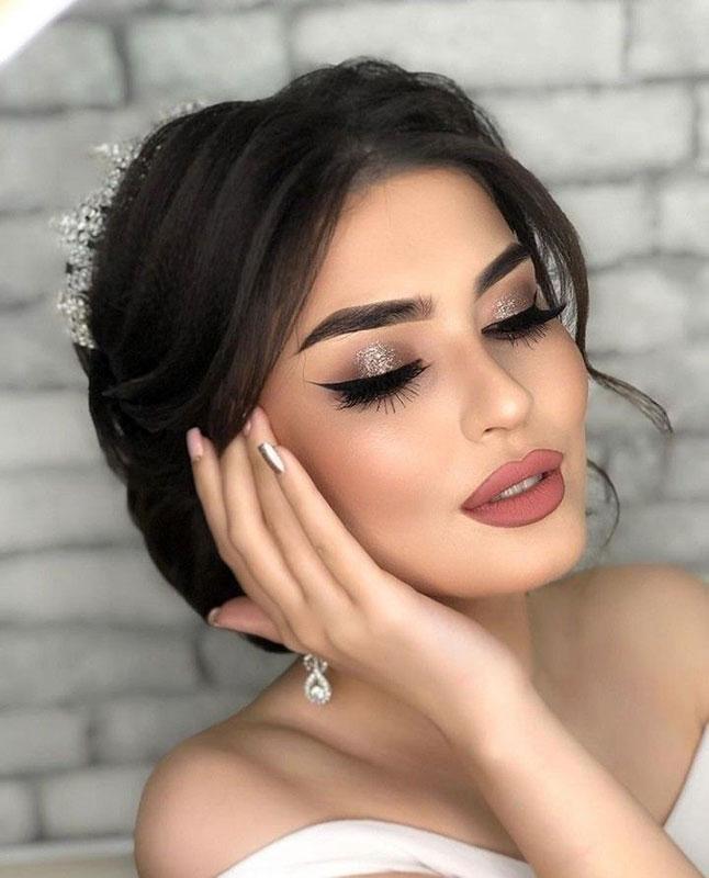 Макияж для невест брюнеток